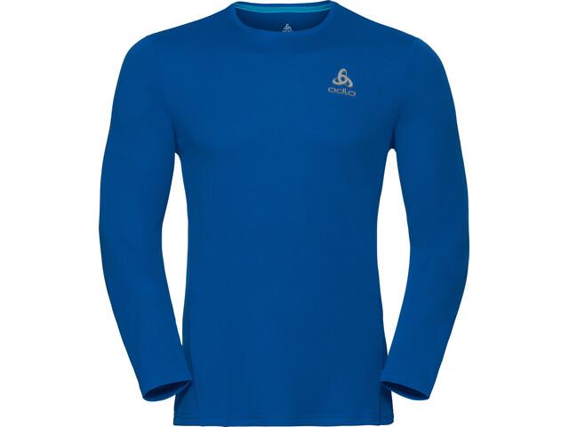 Odlo Sliq - Camiseta manga larga running Hombre - azul